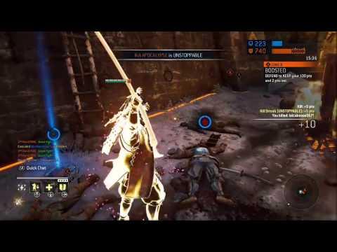 For Honor - Lvl 108 Gear OP? (Revenge is Broken)