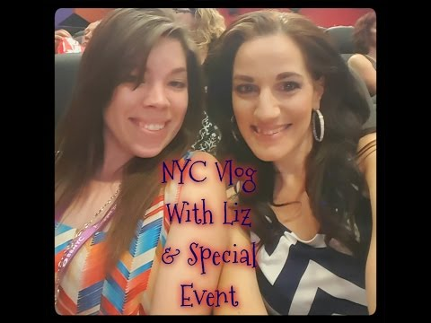 NYC Vlog: Meeting up with Liz, AntMan  Premiere and Paul Rudd!!!