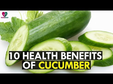 10 Impressive Health Benefits of Cucumber