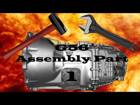 G56 Transmission Assembly -  1st, 2nd & Reverse