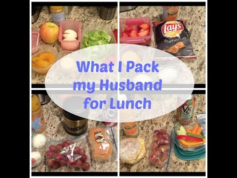 Lunch Ideas for my Husband | What I packed for the week (Non Sandwich)