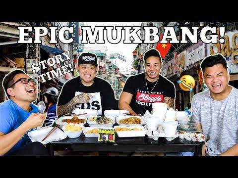 Epic Mukbang! | Asian Edition! *How We Met*