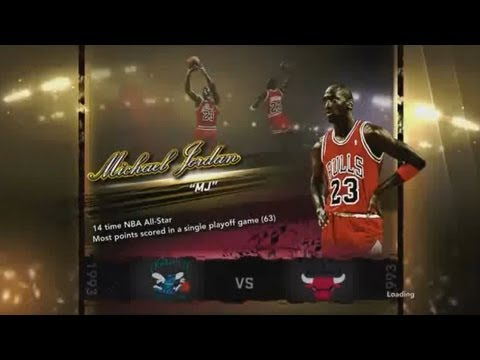 NBA 2K13 NBA Greatest Players Michael Jordan Part 1
