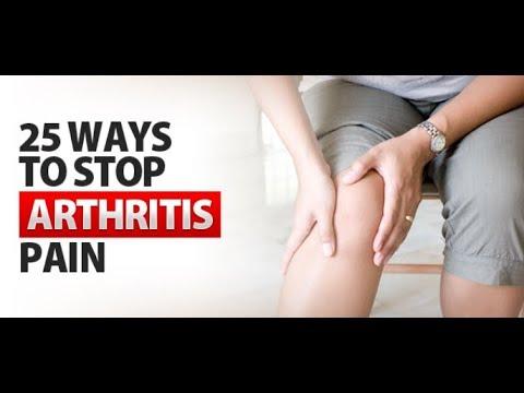 25 Ways To Stop Arthritis Pain
