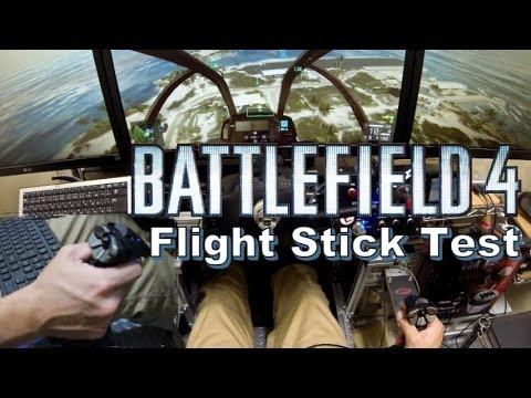 BF4 Cyborg V.1 Flight Stick Test