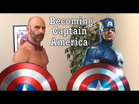 Superhero Series! Becoming Captain America, Chris Evans training history and diet
