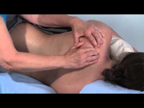 Carole Osborne Demonstrates Adapting a General Massage for Sidelying