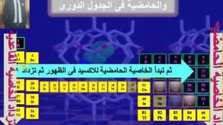 الجدول الدوري وتصنيف العناصر... كيمياء ثانوية عامة
