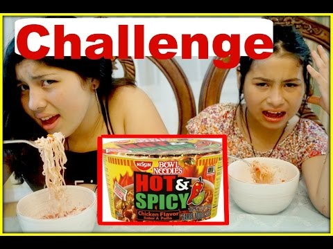 Spicy Noodles Soup With Takis Chips Challenge !