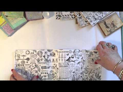 How to make easy no sew mini books