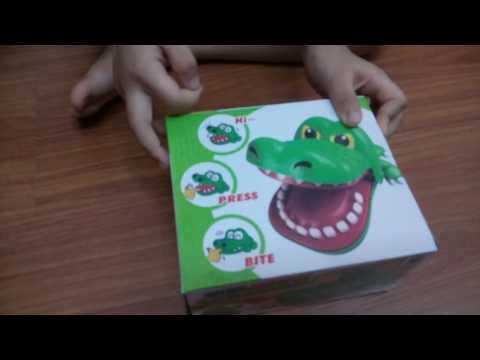 Cá Sấu Đồ Chơi cắn tay - Crocodile toys bite hand