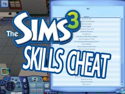 Sims 3 Debug Enabler Mod - Skills Cheat