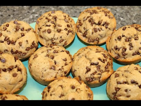 Ashley's Chocolate Chip Cookie Muffins – Recipe