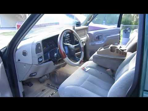 How To Remove The Ash Tray Assembly On A '95-'98/'99 Classic Chevy C/K 1500/GMC Sierra