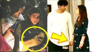 Sara Ali Khan Gets TIGHTLY Secured By BF Kartik Aryaan In Lucknow   CUTEST VIDEO
