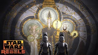 Wolves and a Door: The Unlocking | Star Wars Rebels | Disney XD
