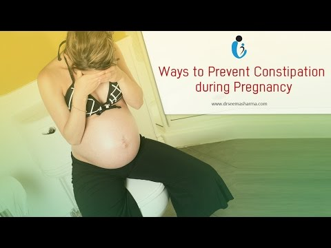 Ways to Prevent Constipation during Pregnancy
