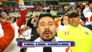 ¡Al mundial! La noche histórica desde el Nacional de Lima