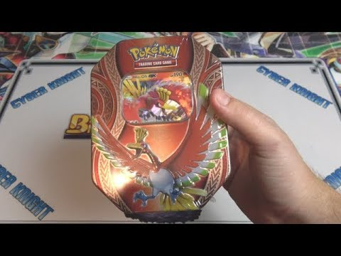 Pokémon TCG Mysterious Powers Ho-oh Tin Opening