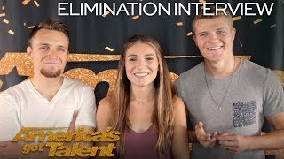 Elimination Interview: We Three Speaks On Their First Audition - America