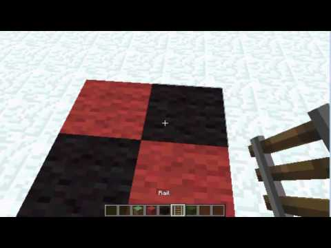 How to make a Roulette Table - Minecraft Furniture Ideas  #7 HD