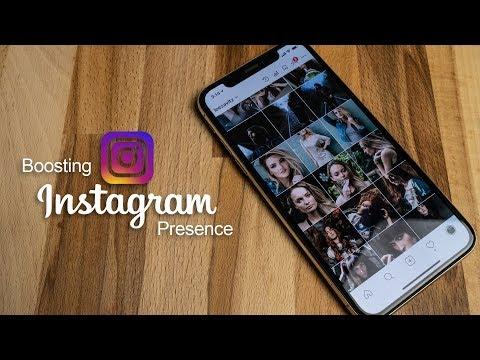 Tips on boosting Instagram presence 2018