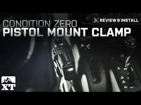 Jeep Wrangler Condition Zero Pistol Mount Clamp (1987-2017 Wrangler YJ, TJ, JK) Review & Install