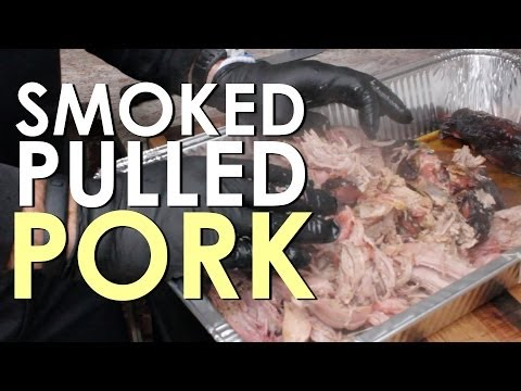 How to Smoke Pulled Pork | The Art of Manliness