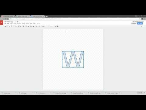 Google Drawing Wordart