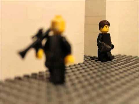 LEGO Animation Test - Silencer Pistol