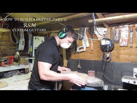 How to build a guitar with RSM Custom Guitars (part 1)