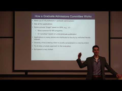 Getting into graduate school in science and engineering (PhD) – Darren Lipomi UCSD