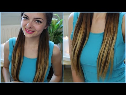 I Got Ombre... Hair Extensions!