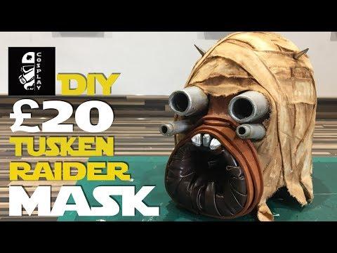 £20 DIY Tusken Raider Mask | #20PoundPropChallenge (Ace Vs. Buckethead Props)