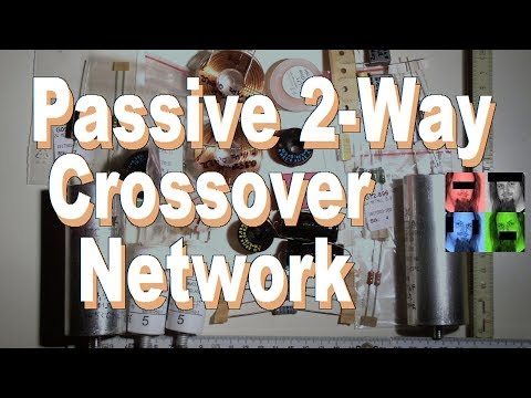 How to Design a Passive Crossover Network for a 2-Way Speaker (English subs)