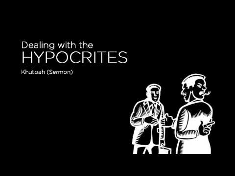 Dealing with Hypocrites [audio only]