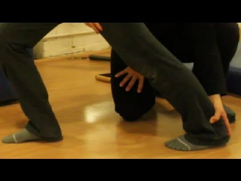How to Stretch out Tight Calf Muscles : Stretching & Exercise