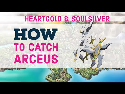 Arceus/Sinjoh Ruins Event (With Working Cheat Codes) - Pokemon HeartGold & SoulSilver