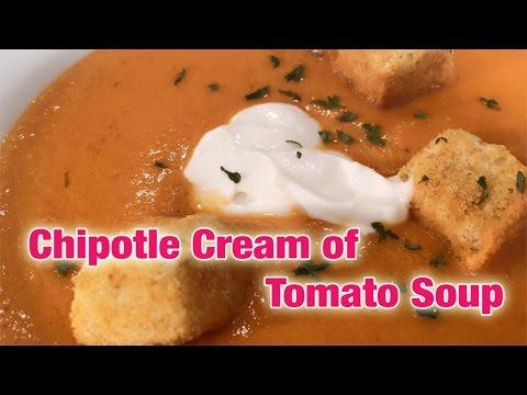 Chipotle Cream of Tomato Soup