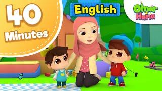 Omar & Hana   40 minutes Compilation of Series   Islamic Cartoons