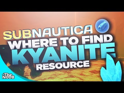 Subnautica: Where to find Kyanite! S01 E34 | TheNoob Official