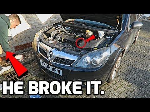 My Friend Broke His Car..