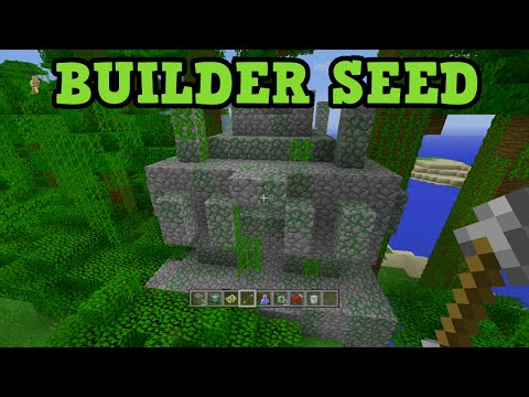 Minecraft Xbox 360 / PS3 Seed - Jungle Temple, Desert Temple, FLAT Land