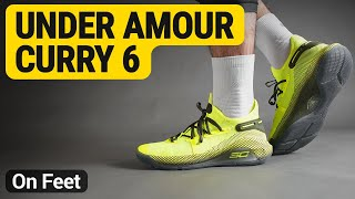 wholesale dealer 476fa 060c5 Under Amour Curry 6 ( High-Vis Yellow   High-Vis Yellow   Guardian