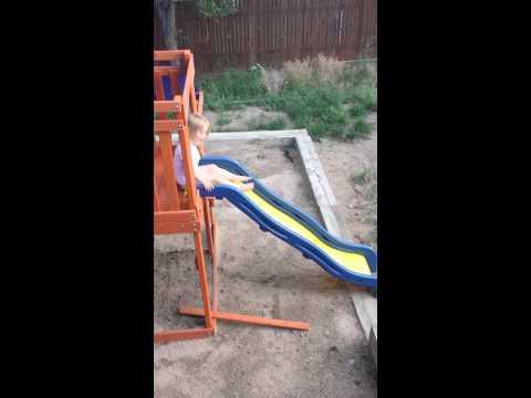 Wedgie + Slide = Bad Combo!