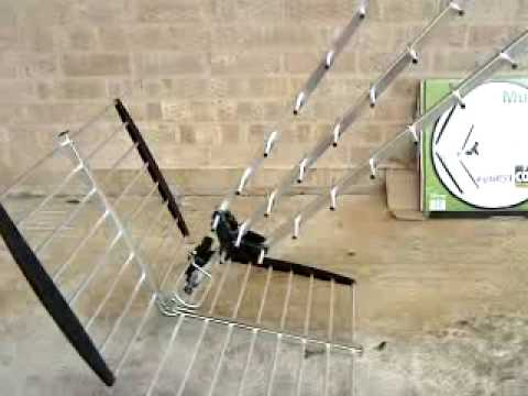 Digital TV Antenna for Freeview In Corsham Wilts UK - Mux 'Magician' High Gain TV Aerial.MP4