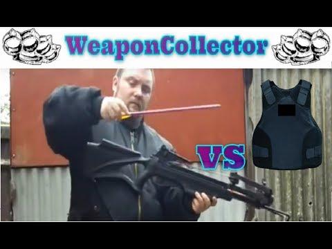 175lb Crossbow & Broadheads vs Body Armor