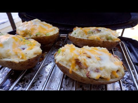 How to Grill Twice Baked Potatoes on a Weber Q