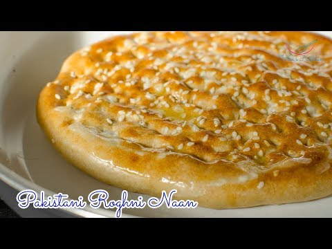 How To Make | Roghni Naan Recipe - Kulcha - Authentic Recipe from Tandoor by Hiba's Kitchen