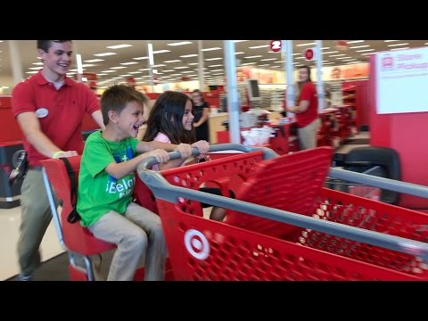 WHAT'S THE TARGET MANAGER DOING WITH MY KIDS?!